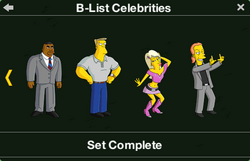 B-List Celebrities Character Collection 2