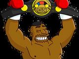 Boxing Drederick Tatum