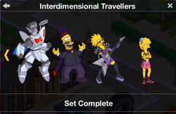 Interdimensional Travellers Character Collection 2