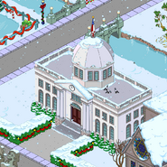 Capital City Capitol Building in winter