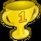 Moodlet winner trophy win