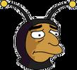 Bumblebee Man Sad Icon