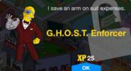 G.H.O.S.T. Enforcer Unlock Screen