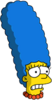 Marge Scared Icon
