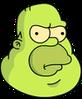 Gelatinous Homer Annoyed Icon