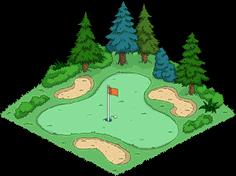 Golf Course Menu