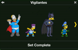 Vigilantes Character Collection 1