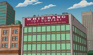 Whiz-Bang Toy Company in the show