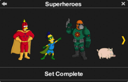 Superheroes Character Collection 1