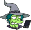 Witch Phone Annoyed Icon