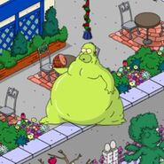 Gelatinous Homer Inhaling Food (2)
