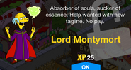 Lord Montymort Unlocked