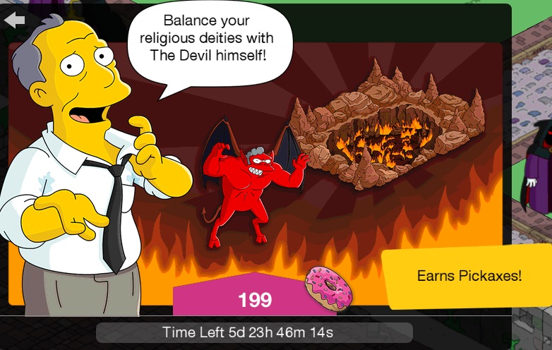 Treehouse of Horror XXIX Promotion (Gil Deal) | The Simpsons: Tapped