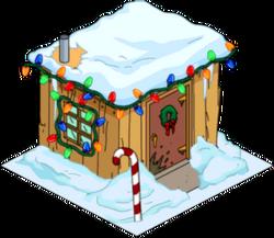 Christmas Willie's Shack Snow Menu