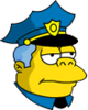 Wiggum Serious Icon