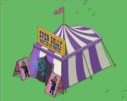 Master Hypnotist Tent animation