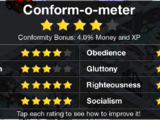Conform-O-Meter