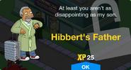 Hibbert's Father Unlock Screen