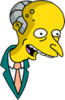 Mr. Burns Happy Icon
