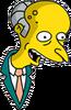 Mr. Burns Happy Icon