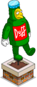 Remorseful Duff Topiary