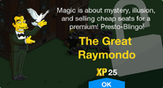 The Great Raymondo Unlocked