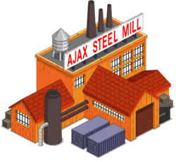 Ajax Steel Mill Icon