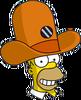 Camera Hat Homer Happy Icon