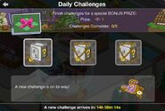 Daily Challenges Free Land Token Bonus Prize