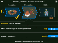 Gobble, Gobble, Toil and Trouble Pt. 4