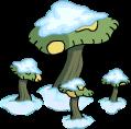 Large Mushrooms Snow Menu