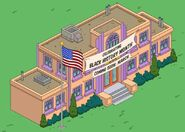 Springfield Elementary Black History Month Sign in the game
