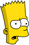 Bart Confused Icon