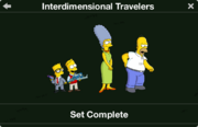 Interdimensional Travelers character collection