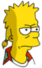 Mooch Bart Annoyed Icon