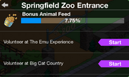 Springfield Zoo Entrance panel Act 1