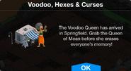 Voodoo, Hexes & Curses notification
