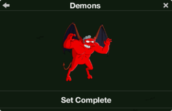 Demons Character Collection
