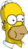 Homer Eating Icon