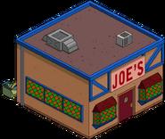 Joe's Tavern Menu
