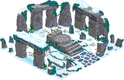 Springfield Henge Snow Menu