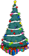 Tapped Out Holiday Tree