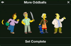 More Oddballs Character Collection 3