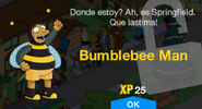 Tapped Out Bumblebee Man New Character