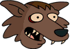 Werewolf Minion Large Happy Icon