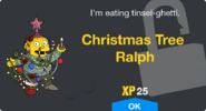 Christmas Tree Ralph Unlock Screen