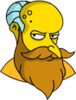 New God Mr. Burns Annoyed Icon