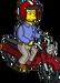 Grady Ride a Moped