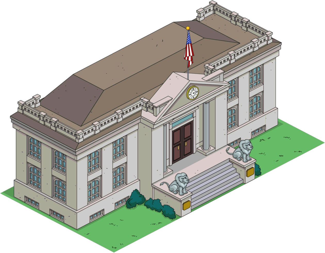 Court House The Simpsons Tapped Out Wiki Fandom