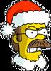 Santa Flanders Angry Icon